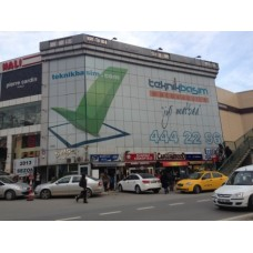 Cam Cephe Reklamı